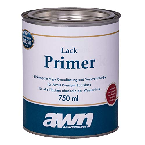 AWN Lack Primer 1K Eine Komponente Primer für Lack Überwasser Ergiebigkeit ca. 12,0 m²/l