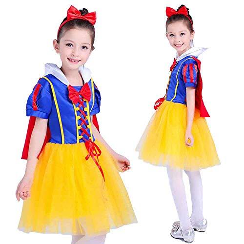 monoii 白雪姫 コスプレ 子供 プリンセス ドレス キッズ ハロウィン コスチューム c613