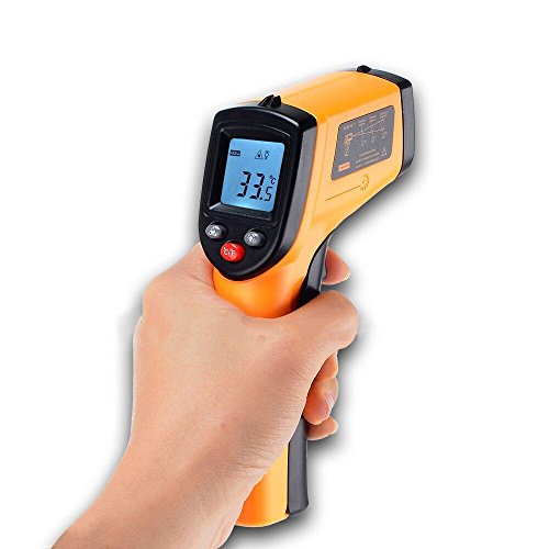 【BENETECH】デジタルサーモメーター 赤外線放射温度計 -50℃~330℃ Infrared Thermometer GM320