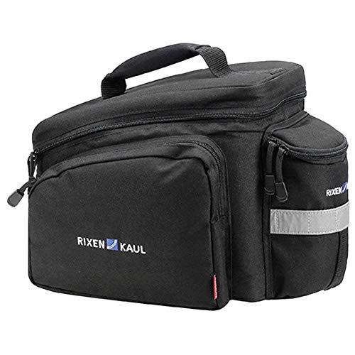 KLICKfix Farradtasche Rackpack 2 für Racktime Gepäckträgertasche, Schwarz, 35 x 24 x 23 cm