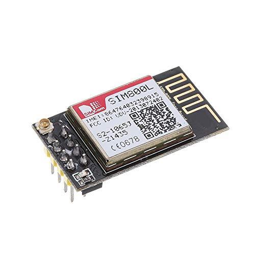 DollaTek Micro modulo SIM800L GPRS gsm SIM Porta seriale Bordo di Centro del Quadrato della Carta Ttl per ESP8266 ESP32