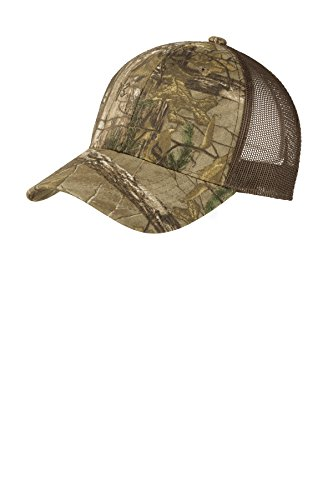 Port Authority Structured Camouflage Mesh Back Cap-C930-OSFA