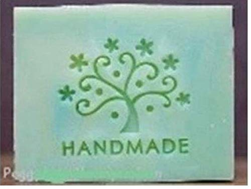 Zonster Glückliches Baum-Muster MINIDIY Soap Stamp Chaprter Seal 5 * 5cm, 1piece.