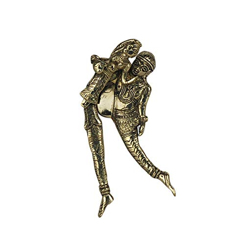 Vidal Regalos Nussknacker Indien, Messing, 14 cm