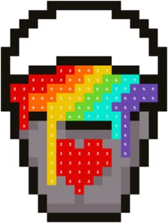 pixel art i