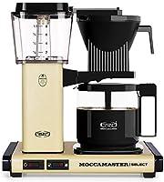 Moccamaster CD - KBG 741 Select - Pastel Yellow Kaffemaskin, 1.25L, Beige