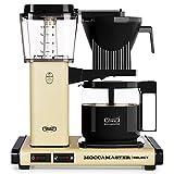 Moccamaster KBG Select Cafetera de filtro, 1520 W, 1.25 litros, Aluminio, Amarillo...