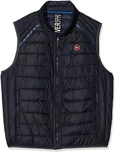 s.Oliver Big Size heren outdoor-vest 28.001.53.4692