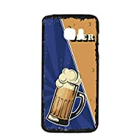 すまほケース ハードケース Galaxy S7 edge SC-02H・SCV33 対応 BEER ビール・ブルー ビンテージ アメリカン レトロ USA SAMSUNG サムスン ギャラクシー エスセブン エッジ docomo au すまほカバー 携帯ケース 携帯カバー beer_00z_h191@02