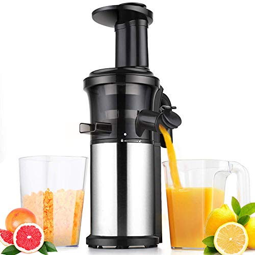Review Of SHUHAO Juicer, Slow Chewing Juicer BPA-Free Material Removable and Easy to Clean with Quie...