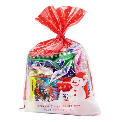 クリスマス袋 160円 お菓子 詰め合わせ (Aセット) 駄菓子 袋詰め おかしのマーチ