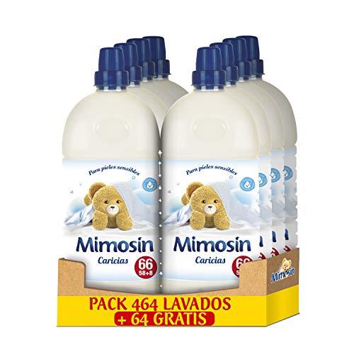 Mimosin Suavizante Concentrado Caricias 58lav x 8botellas