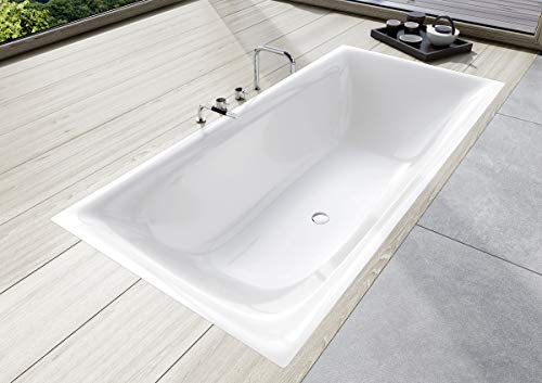 Kaldewei Badewanne SILENO Modell 674, 170 x 75 x 40 cm, Alpinweiß matt