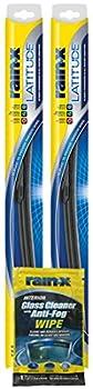 Rain-X 22  Latitude Wiper Blades Bundle with Rain-X Glass Cleaner Wipe  3 Items