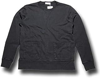 (ベルバシーン) Velva Sheen 8oz JERSEY CREW NECK SWEAT ポケット スウェットシャツ 161643P ブラック