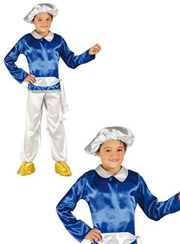 Guirca Heiliger König Melchior Kostüm für Kinder Krippenspiel die heiligen DREI Könige Kirche Weihnachten Gr. 98-146, Größe:128/134