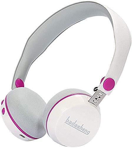 FHW Bluetooth headset, 4.2 Stereo lichtgewicht kinderen draadloze headset bass stereo spel video ear Noise-cancelling microfoon koptelefoon