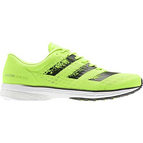 adidas Adizero Adios 5 m, Zapatillas de Running Hombre, Signal Green/Core Black/FTWR White, 42 2/3 EU 🔥