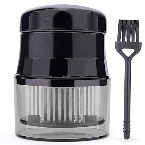Batticarne Professionale - Inteneritore Accessorio Commerciale per la Cucina di Alta qualità con 56 Lame Affilate in Acciaio Inossidabile + 1 Spazzola per Pulizia