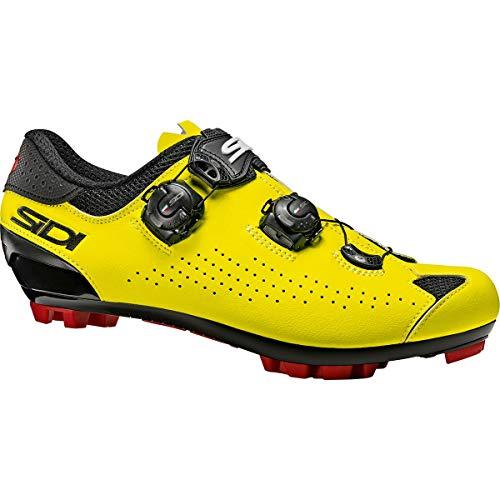 Sidi MTB Eagle 10 - Zapatillas de ciclismo para hombre, negro, amarillo, 47