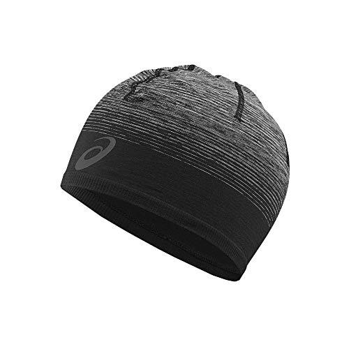 ASICS Unisex Seamless Beanie Ombre Visor, Schwarz (Black 146820-0904), (Herstellergröße:One Size)