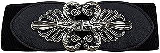 YouBella Jewellery Celebrity Inspired Adjustable Kamarband Waist Belt for Women/Girls (YB_Belt_28) (Black), Large