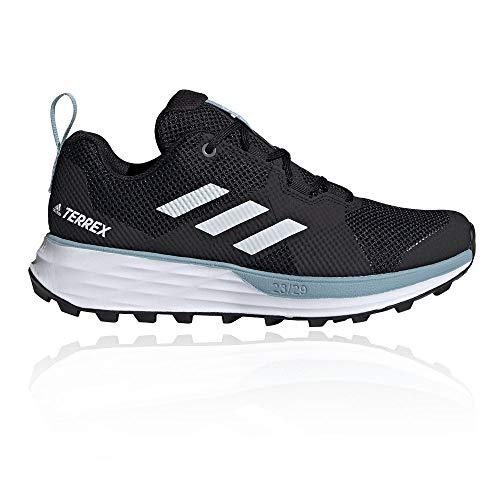 adidas Terrex Two W, Zapatillas Deportivas para Mujer, Core Black/FTWR White/Ash Grey S18, 40 EU