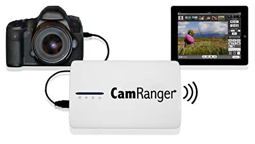 CamRanger Wireless Nikon and Canon DSLR Remote from iPad, iPhone, iPod Touch, Android, and Mac &...