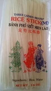 Rice Stick Noodle - 14 Oz. (Pack of 3 Bags) (Medium)