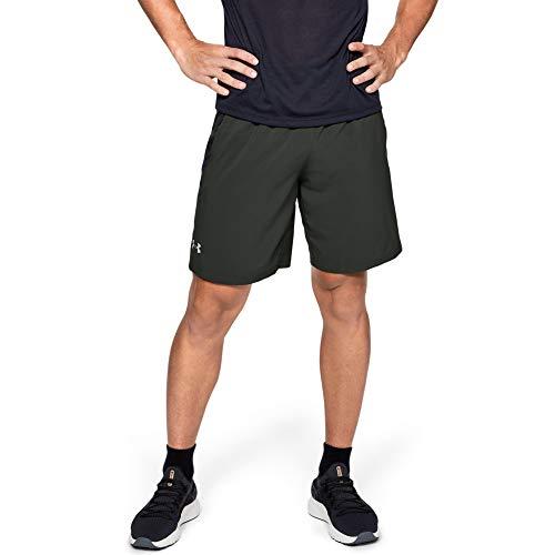 Under Armour - Running-Shorts für Herren in Grün, Größe S