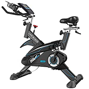 L NOW Indoor Cycling Bike Stationary Exercise Bike Belt Driven Smooth Quiet