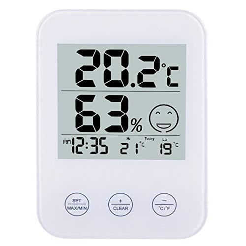Multifunktionales Weckerthermometer Touch Creative Wecker Hygrometer Freizeit Elektronische Wanduhr