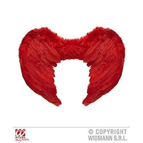 Rouge Plume pour la guerre des dieux Femme env. 37 cm x 50 cm