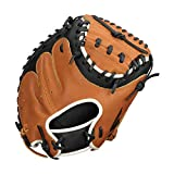 EASTON PARAGON YOUTH Catchers Baseball Glove | 2020 | Right-Hand Throw | 31' | Catchers Mitt | Solid Web | Select Cowhide Leather +...