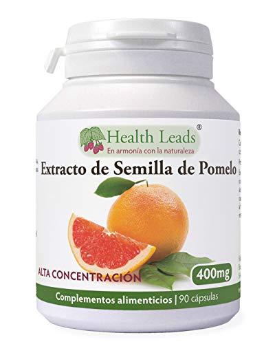Extracto de semilla de pomelo 400 mg x 90 cápsulas (no estearato de magnesio)