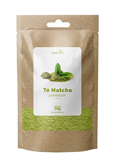 Carefood Té Verde Matcha Orgánico Premium - 70 gr