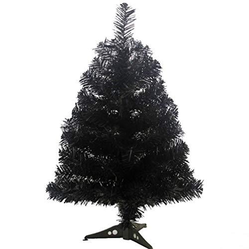 Amosfun árbol de Navidad Artificial de 60 cm con Soporte de plástico para Adornos de Festival Decoraciones de Fiesta de Navidad para Sala de Oficina