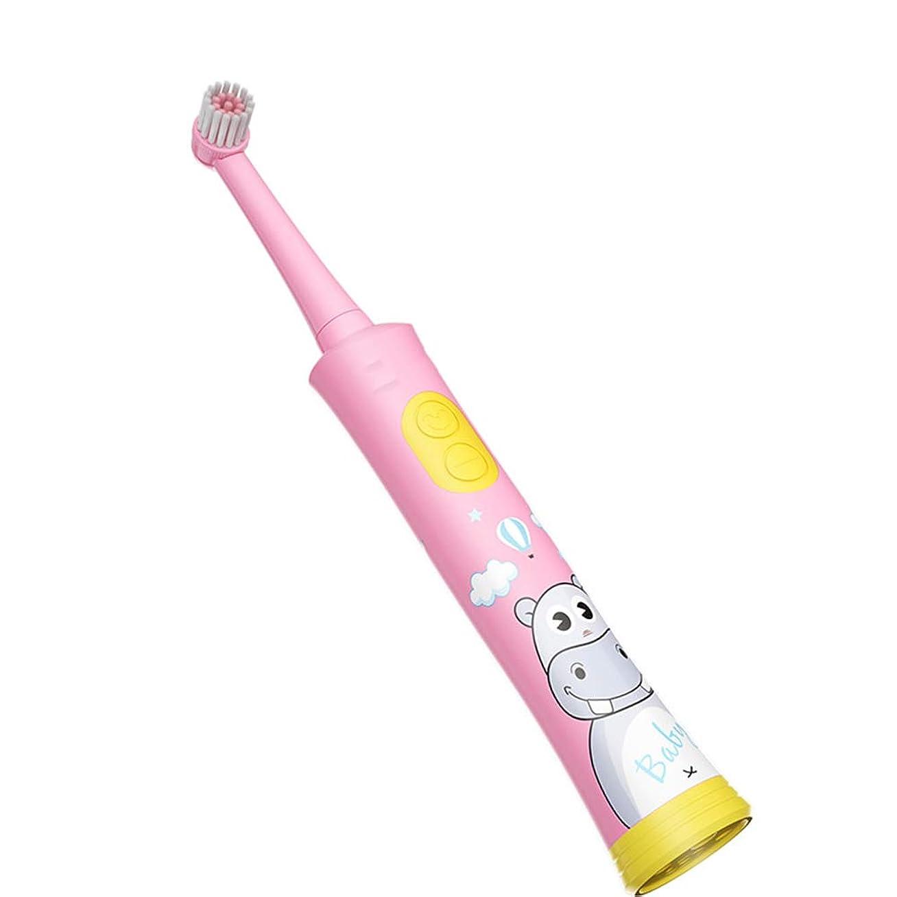スリッパ単に適格赤ちゃんの排他的な周波数、DuPontソフトブラシ素材、ボディ防水技術、長い電池寿命に沿った超音波子供用電動歯ブラシ