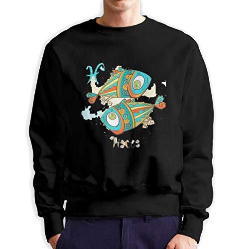Sunwan Kinder Horoscoop Vissen Mouw Lange Shirt Top Tops Casual Sweatshirt Blouse Tee Shirts Tees Klassieke Crewneckpatchwork Korte tiener Grote Blouses