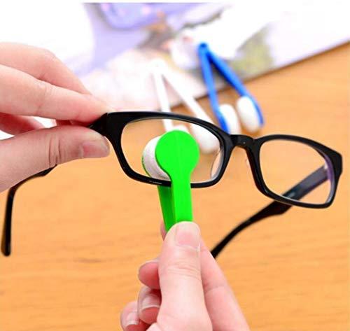 Hot Mini Brillenreinigung Ultraweiche Brillen Reiben Brillenreiniger Brillen Reiben Tragbare Multifunktions-Reinigungstücher, Schwarz