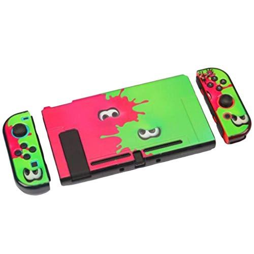 Splatoon - Nintendo Switch Hard Shell Plastic Cover Case - Splats Splatoon 2 inspired Design