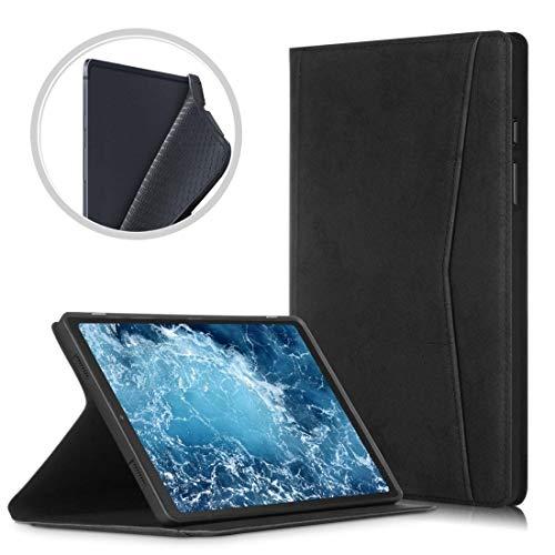 Zhangli Fundas para tabletas Galaxy For el Caso de Samsung Galaxy Tab A7 2020 T500 / T505 mármol Textura del paño de TPU Horizontal de Cuero del tirón con el sostenedor Fundas para tabletas Galaxy