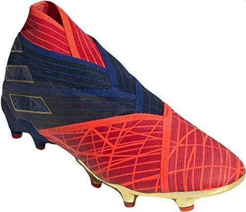 adidas Hombre Nemeziz 19+ FG ADV Zapatos de Fútbol Rojo, 43 1/3 ✅