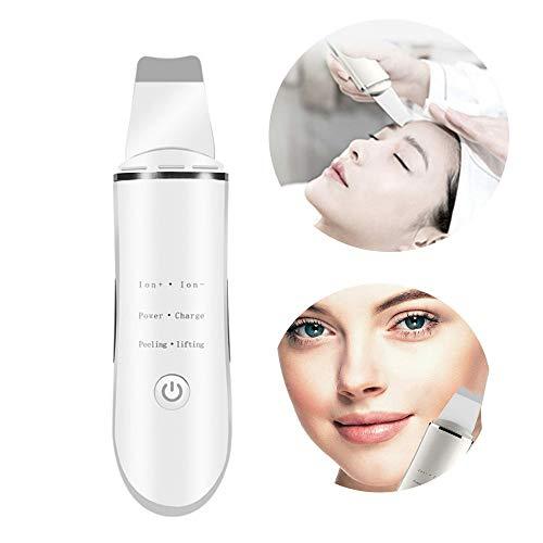 QLHYSYS elektrische poriënreiniger scrubber voor de gezichtshuid Dell'Acne 3 modi voor het schillen van het gezicht, oplaadbaar via USB scrubber.