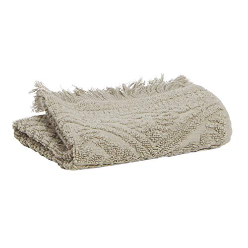 Vivaraise - Drap de Douche Zoé - 70x140 cm - Serviette de Plage, Spa, Piscine, hammam - Tissu éponge Absorbant - 100% Coton - Motif Jacquard
