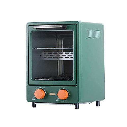 KAUTO Mini Four à Pizza avec minuterie rôtissoire 100-230 ℃ 1100 W, 12 litres, Fonction de Chauffage Rapide, pour Un Nettoyage Facile