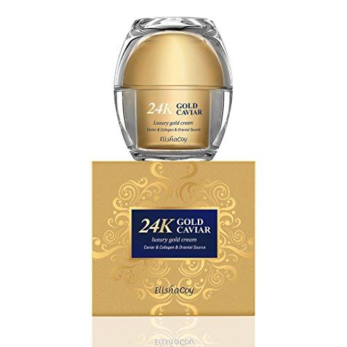 ELISHACOY 24K Gold Caviar Cream 50g - Luxury Gold Nutrient Skin...