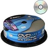 Emtec DVD + R DL 8,5Go 8x 25p CB-8