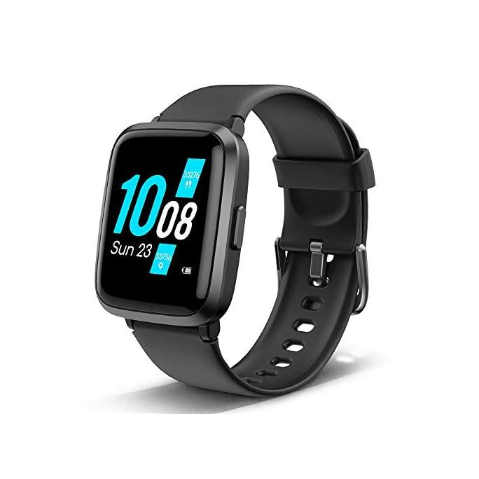 Lintelek Smartwatch Fitness Armband mit Blutdruck