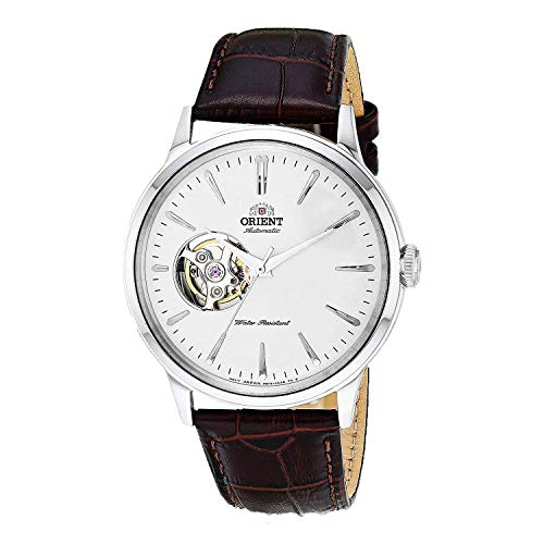 omega watch men leather - 5